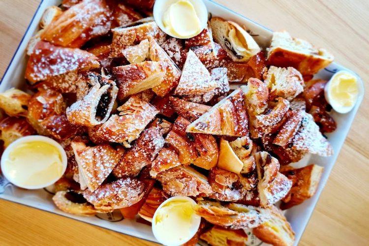 funtopia party platter baked goods